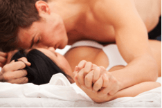 Masculine Presence in Bed